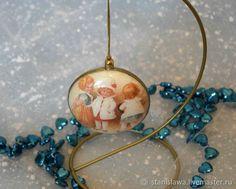 Купить Новогодняя подвеска. Новогодний шар. Новогодний медальон в интернет магазине на Ярмарке Мастеров