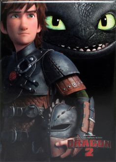 How to Train Your Dragon 2 Movie Poster Magnet