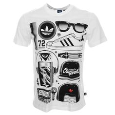 Adidas Originals SST Look T Shirt White - that should be mine!