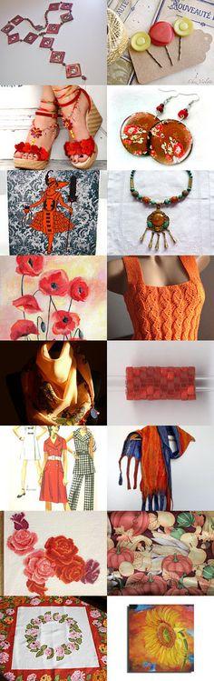 Shades of Fall by Paula on Etsy--Pinned with TreasuryPin.com