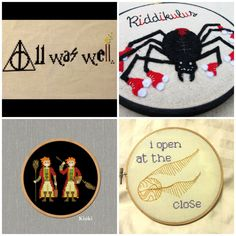Harry Potter Cross Stitch and Embroidery