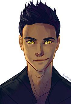 Magnus Bane by taratjah.deviantart.com on @DeviantArt