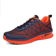 2016 spring men running shoes lightweight for men walking running sports increased net surface sneakers air cushion breathable10