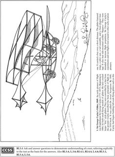 coloring pages for wright brothers - photo#16