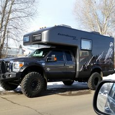 Big custom camper sightings - Page 37 - Expedition Portal Custom Campers, Cool Campers, Rv Campers, Custom Trucks, Camper Van, Truck Camping, Jeep Truck, Camping Trailers, Travel Trailers