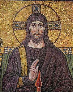 Jesus Christ Ravenna Mosaic