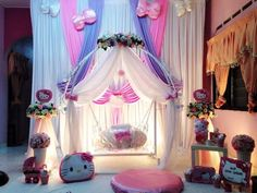 Struggling for ideas for the baby naming ceremony decoration? Remarkable cradle ceremony decoration & themes to make your little one's day memorable. Backdrop Design, Diy Backdrop, Paper Flower Backdrop, Photo Booth Backdrop, Naming Ceremony Decoration, Ceremony Decorations, Birthday Party Decorations, Baby Shower Decorations, Cradle Ceremony