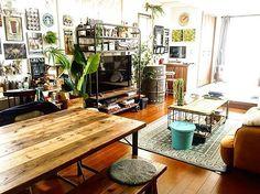 【連載】vol.39 素敵なカフェ空間。週末夫婦でつくるhejinさんの男前インテリア | iemo[イエモ]