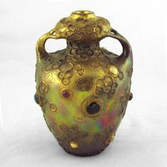 Amphora Ceramics & Art Pottery from Teplitz Austria by dachsel Stellmacher Wahliss