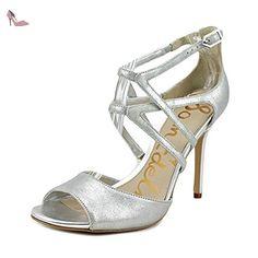 Sam Edelman Aeryn Femmes US 8 Argenté Sandales - Chaussures sam edelman (*Partner-Link)
