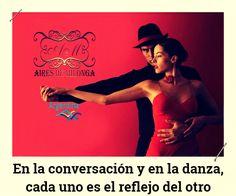 En la conversación y en la danza, cada uno es el reflejo del otro. Suscríbete para más videos de #Tango a https://youtube.com/airesdemilonga