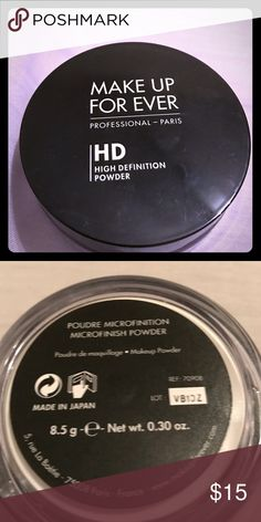 Make up for ever HD powder Make up for ever HD high definition powder ( microfinish powder). make up for ever Makeup Face Powder