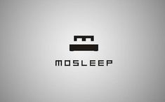 Simple and effective brand identity by using the 'm' as the head rest of a bed
