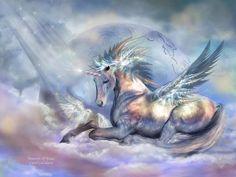 Unicorn of Peace...By Artist Carol Cavalaris...
