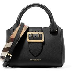 Burberry Textured-leather tote (€1.395) ❤ liked on Polyvore featuring bags, handbags, tote bags, tote hand bags, burberry, woven tote, burberry purses and burberry tote bag