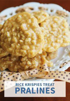 We can all agree there is nothing better than peanut butter! Try mixing it into your classic treat recipe to create these Rice Krispies Treat® Praline Cookies. This easy recipe is great for all your holiday parties or simply as an afternoon snack.