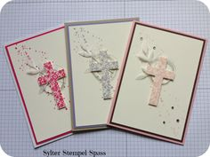 Stampin Up Hold on to Hope Sympathy Cards, Greeting Cards, Confirmation Cards, Church Crafts, All Holidays, Get Well Cards, Stamping Up, Baby Cards, Homemade Cards