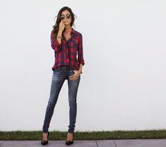 Racquel Natasha: The Perfect plaid look