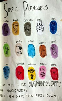 lesson 1- do no more than 10 thumb prints draw up characters and their names and write an out-line lesson 2 the story