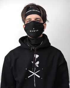 Apparel Accessories 1pcs Anti Dust Mouth Mask Cotton Blend 3-layer Nose Protection Mask Black Fashion Reusable Masks For Man Woman To Win A High Admiration And Is Widely Trusted At Home And Abroad.