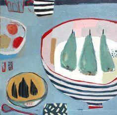 "Saatchi Art Artist Anna Hymas; Painting, ""Bowls, Fruit, Cups & Mugs"" #art"