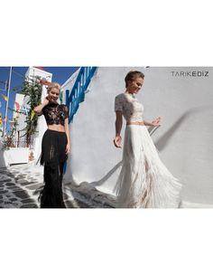 tarik-ediz-92654-prom-dress-two-piece-lace-crop-top-tassel-skirt