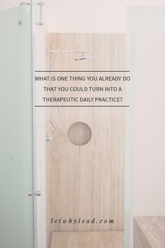 Daily Therapeutic Rituals | A super simple idea to help you squeeze a little self-care into your full days.