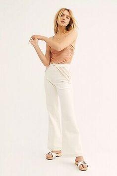 NEW $168 Free People Nikki Set Tunic Tank Top /& Wide Leg Pants Size XS or Small