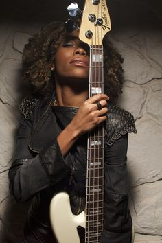 Nik West Front Cover of Bass Musician Fender Bass, Fender Guitars, Music Is Life, My Music, Human Poses, Women In Music, Female Singers, Music Artists, Stage