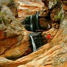 Adventure awaits on the Cedar Falls Hiking Trail. Camping And Hiking, Hiking Trails, Espanto, Cedar Falls, Day Hike, The Great Outdoors, Places To See, South Africa, Beautiful Places