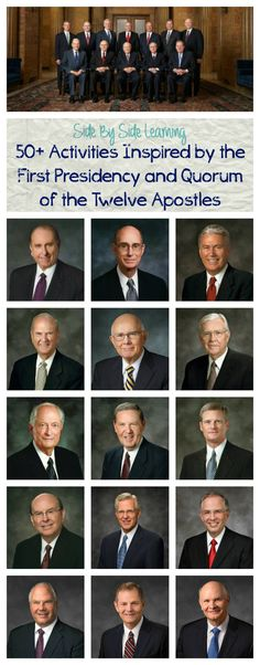 Activities inspired by the First Presidency and Quorum of the Twelve Apostles