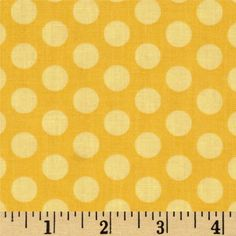 This N That Gum Drop Gold from @fabricdotcom  Designed by Nancy Halvorsen for Benartex, this fabric is perfect for quilting, apparel and home decor accents. Colors include shades of yellow.