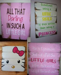 find all these adorable signs and more and like OMG! get some yourself some pawtastic adorable cat shirts, cat socks, and other cat apparel by tapping the pin! Pallet Crafts, Pallet Art, Pallet Signs, Diy Crafts, Cute Signs, Diy Signs, Painted Signs, Wooden Signs, Scrap Wood Projects
