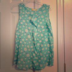 "Spotted while shopping on Poshmark: ""Beautiful spring tank.""! #poshmark #fashion #shopping #style #Tops"
