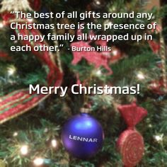 Happy Holidays from Lennar!