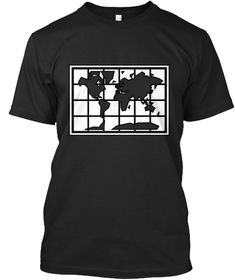 Discover World Map T-Shirt from Minimal Wear, a custom product made just for you by Teespring. Minimal, Just For You, Map, Motivation, Mens Tops, T Shirt, How To Wear, Design, Products