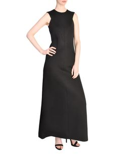eac1386e52fed Chanel Vintage Black Sleeveless Wool Jersey Maxi Dress - from Amarcord  Vintage Fashion Vintage Chanel,