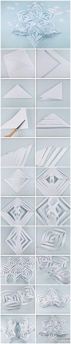 snowflake  雪花的制作