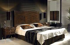 Спальня испанской фабрики EVE в стиле Арт-деко #excll #дизайнинтерьера #решения