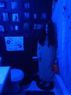 My creepy Halloween bathroom 2013 first pic