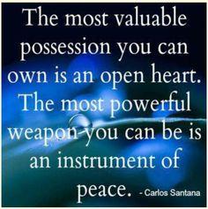 Carlos Santana Quote.