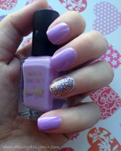 Barry M - Berry Ice Cream & OPI -  Sparkle-icious
