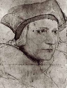 """""""Give us good Lord, the grace to work for the things we pray for.""""  St Thomas More by Hans Holbein"""