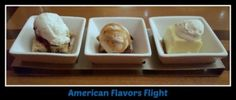 American Flavors Flight from The Wave at Disney's Contemporary Resort