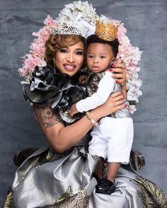 Tonto Dikeh & Son King Andre Are Too Cute For Words In Adorable Photos