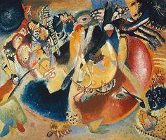 """Wassily Kandinsky - """"Improvisation of Cold Forms"""", 1914"""