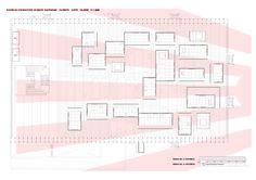 Kochuu - espacio expositivo - planta Diagram, Floor Plans, Space, Plants, Architecture, Floor Plan Drawing, House Floor Plans