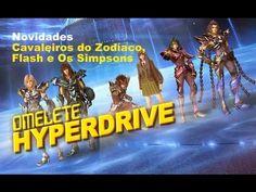 The Flash, Cavaleiros do Zodíaco, Os Simpsons | Novidades
