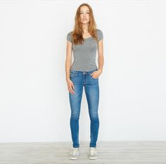 Blue City High Waist Jegging. Check out blog.garageclothing.com for fit details and denim inspirations! #iweargarage