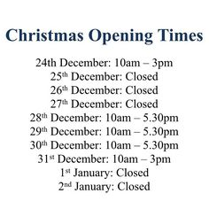 cocarantiJust in case you want to plan your shopping trips here are our opening times for over the Christmas and New Year. Don't forget you can still shop online whilst we are closed 👍🏻🎉🎄 #shopping #boutique #openingtimes #christmas #newyear #sale #designer #denim #knutsford #cocaranti #cheshire #fashion #aw16 #ss17 #treatyourself #fashion #instadaily